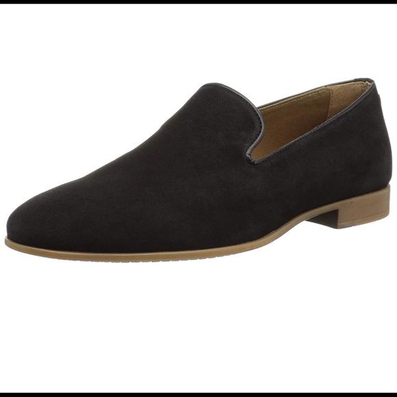 70e772fbdd7 Aldo Shoes | Mens Loafer Black Suede | Poshmark